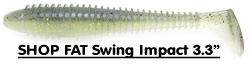 Shop Keitech Fat Swing Impact 3.3""