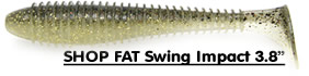 Shop Keitech Fat Swing Impact 3.8""