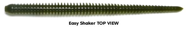 Keitech Easy Shaker Ringed Ribbing Design
