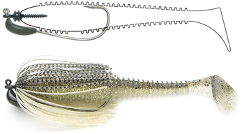 Keitech Tungsten Model III Swim Jig Details